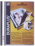 Angebotshefter DURAPLUS®, strapazierfähige Folie, DIN A4, grau