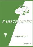 Fahrtenbuch für PKW - A5. 20 Seiten