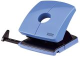 Locher (Büro) B230 - 30 Blatt, 4-fach Lochung, Anschlagschiene, hellblau