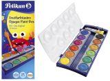 Deckfarbkasten 735K/12, 12 Farben + 1 Deckweiß