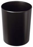 Papierkorb 20 Liter flammhemmend, schwer entflammbar, schwarz