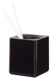 Stifteköcher i-Line - hochglänzend, schwarz