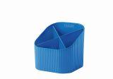 Schreibköcher Re-X-LOOP - 4 Fächer, blau