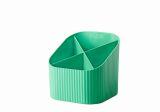 Schreibköcher Re-X-LOOP - 4 Fächer, grün