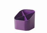 Schreibköcher Re-X-LOOP - 4 Fächer, lila