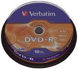 DVD-R 4.7GB/120Min 16x. Sp.10