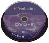 DVD+R 4.7GB/120Min 16x. Sp.10
