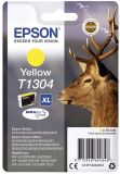 Epson Inkjet-Druckerpatronen gelb, 880 Seiten , C13T13044012