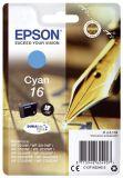 Epson Inkjet-Druckerpatronen cyan, 165 Seiten , C13T16224012