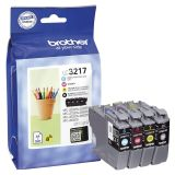 Brother® Multipack Inkjet - LC3217 VALDR