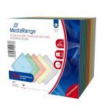 CD-Leerhülle. schmal. für 1 Disc. 5mm. farbig sortiert. 20er Pack