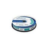 DVD+R Double Layer 8.5GB. 240min 8-fache Schreibgeschwindigkeit. vollflächig bedruckbar (Tintenstrahldrucker). 10er Cakebox