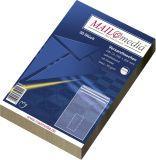 Versandtaschen C5 (162x229 mm) mit Fenster, selbstklebend, 90 g/qm, braun, 50 Stück