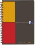 International Adressbook - PP-Deckel, schwarz, 2farbige Lineatur, A5+, 72 Blatt