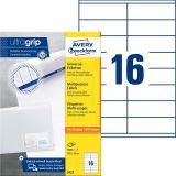 3423 Universal-Etiketten ultragrip - 105 x 35 mm, weiß, 1.600 Etiketten, permanent