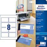 Professionelle Visitenkarten für Inkjetdrucker bis 5760 dpi