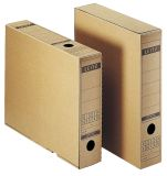 6085 Archiv-Schachtel, A3, mit Verschlusslasche, naturbraun