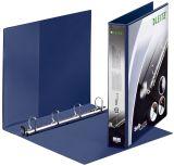 4202 Ringbuch SoftClick, A4, mit Taschen, 4 Ringe, 30 mm, blau
