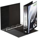 4202 Ringbuch SoftClick, A4, mit Taschen, 4 Ringe, 30 mm, schwarz
