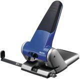 5180 Registraturlocher bis A3, 6,5 mm, mit Anschlagschiene, blau