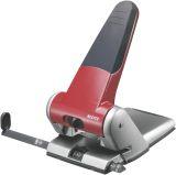 5180 Registraturlocher bis A3, 6,5 mm, mit Anschlagschiene, rot