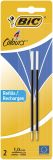 4 COLOURS Kugelschreibermine - 0,4 mm, 2 Stück, blau