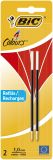 4 COLOURS Kugelschreibermine - 0,4 mm, 2 Stück, rot