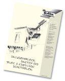 Skizzenblock - A4, 120 g/qm, 50 Blatt