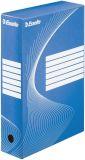 Archiv-Schachtel - DIN A4, Rückenbreite 8 cm, blau