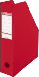 Stehsammler, A4, Pappe mit PVC-umschweißt, rot