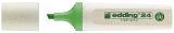 24 Textmarker Highlighter EcoLine - nachfüllbar, hellgrün
