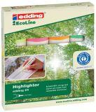 24 Textmarker Highlighter EcoLine - nachfüllbar, sortiert