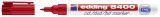 8400 CD-Marker für permanente Beschriftung, Strichstärke ca. 0,5 - 1 mm - rot