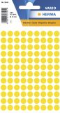 1841 Vielzwecketiketten gelb Ø 8 mm rund Papier matt 540 St.