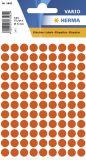1842 Vielzwecketiketten rot Ø 8 mm rund Papier matt 540 St.