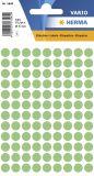 1845 Vielzwecketiketten grün Ø 8 mm rund Papier matt 540 St.