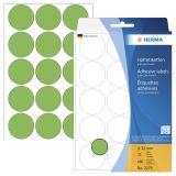 2275 Vielzwecketiketten grün Ø 32 mm rund Papier matt 480 St.