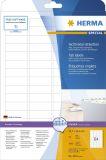 4201 Sichtreiteretiketten A4 weiß 45,7x16,9 mm Movables/ablösbar Papier matt 1600 St.