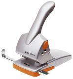 Registraturlocher HDC65, Gussmetall, 65 Blatt, silber/orange