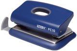 Bürolocher FC10, Kunststoff, 10 Blatt, blau
