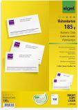 sigel® PC-Visitenkarten