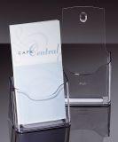 Tisch-Prospekthalter acrylic, mit 1 Fach, glasklar, für DL