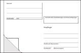 Adress-Aufkleber - lose, selbstklebend, 140x97 mm, 100 Stück