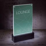 LED-Tischaufsteller luminous - beleuchtbar, für A5