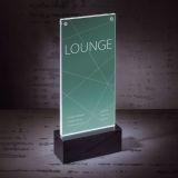 LED-Tischaufsteller luminous - beleuchtbar, für DL