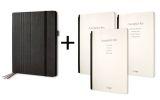Business Organiser Conceptum flex Set - A4, Kunstleder, schwarz