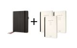 Business Organiser Conceptum flex Set - A5, Kunstleder, schwarz