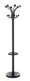 Garderobenständer Nubis - 176 cm, schwarz