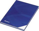 Kladde / Notizbuch Business blau, kariert, DIN A4, 96 Blatt, 70 g/qm