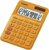 Tischrechner MS-20 - Solar-/Batteriebetrieb, 12stellig, LC-Display, orange